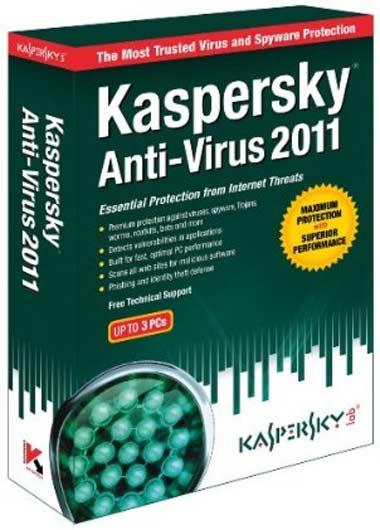 kaspersky 2011 antivirus